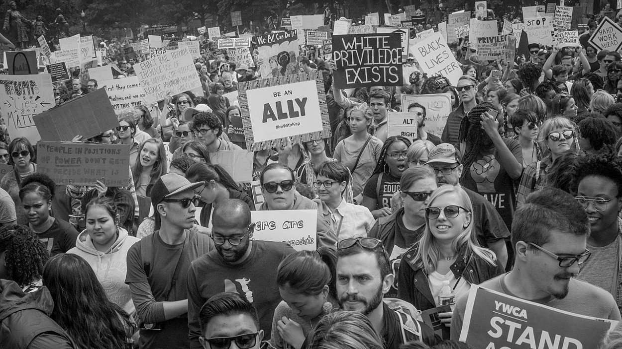 March for Racial Justice, Washington, D.C. September 30, 2017, photo by Philip N. Cohen