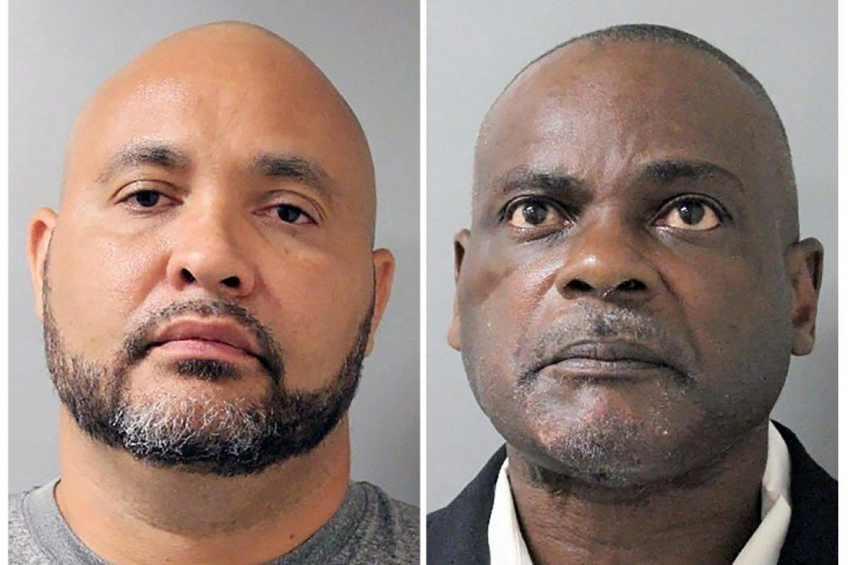Former Houston Police Narcotics Officers Steve Bryant (left) and Gerald Goines (right) — Image courtesy of the Houston Police Department